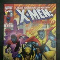 Cómics: X MEN : LIBERADORES N.4 . JÓVENES DOTADOS . ( 1999 ). Lote 179101170