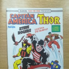 Cómics: CAPITAN AMERICA THOR VOL 1 (MARVEL TWO-IN-ONE) #73. Lote 179107042