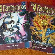 Cómics: LOS 4 FANTASTICOS DE JOHN BYRNE COLECCIONABLE 2 Y 3 ¡BUEN ESTADO! MARVEL FORUM. Lote 179127743