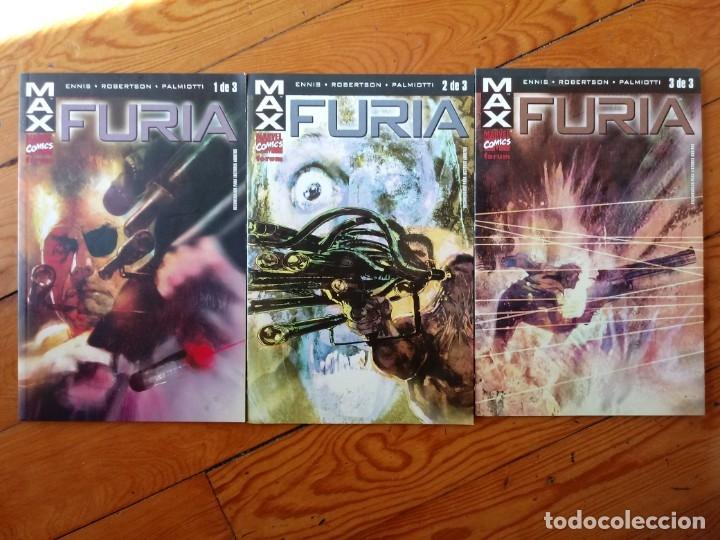 MAX FURIA FORUM 3 COMPLETA (Tebeos y Comics - Forum - Otros Forum)