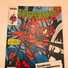 Cómics: SPIDERMAN RETAPADO 216 AL 220. FORUM 1983 . Lote 179154901