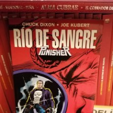 Cómics: RÍO DE SANGRE-PUNISHER-CHUCK DIXON Y JOE KUBERT-FORUM. Lote 179155047