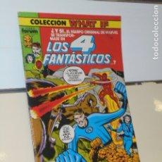 Cómics: COLECCION WHAT IF Nº 6 LOS 4 FANTASTICOS - FORUM. Lote 179191203