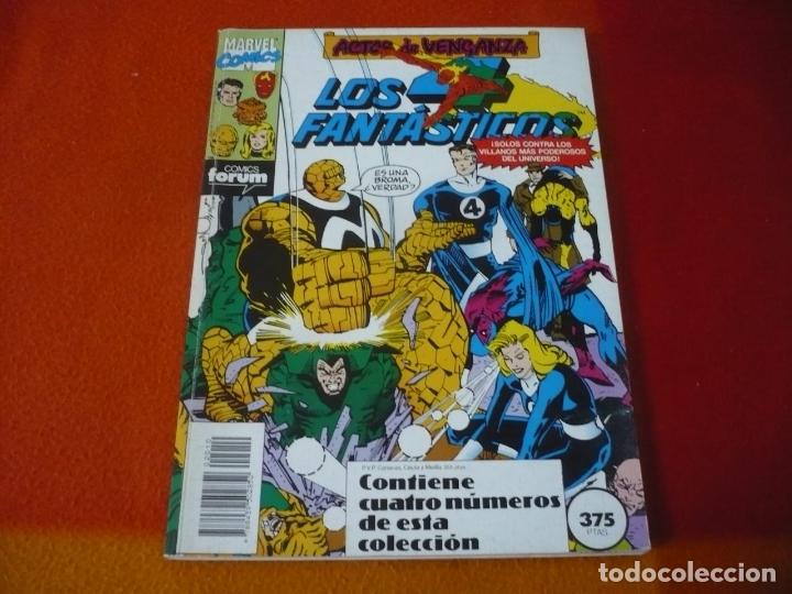 LOS 4 FANTASTICOS VOL. 1 NºS 96 AL 99 RETAPADO ( HARKNESS ) ¡BUEN ESTADO! FORUM MARVEL (Tebeos y Comics - Forum - 4 Fantásticos)