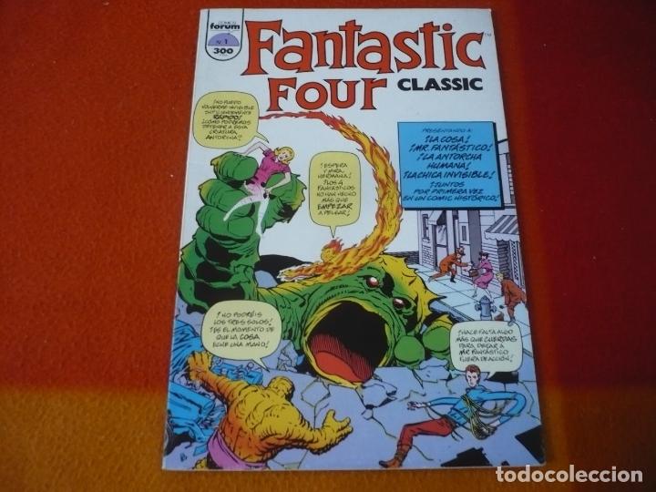CLASSIC FANTASTIC FOUR Nº 1 ( LEE KIRBY ) ¡BUEN ESTADO! FORUM MARVEL LOS 4 FANTASTICOS (Tebeos y Comics - Forum - 4 Fantásticos)