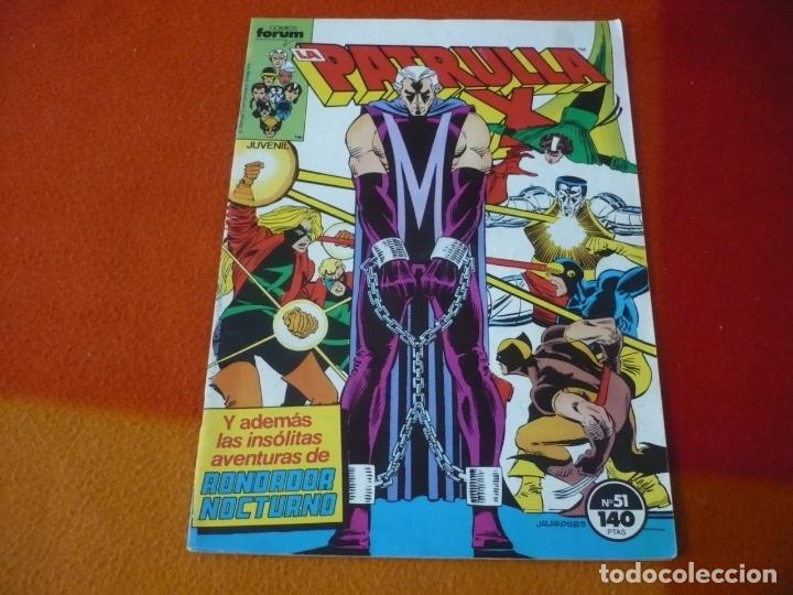 LA PATRULLA X VOL. 1 Nº 51 ( CLAREMNT ROMITA ) ¡BUEN ESTADO! FORUM MARVEL (Tebeos y Comics - Forum - Patrulla X)