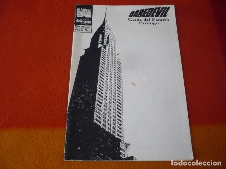 DAREDEVIL CAIDA DEL PARAISO Nº 1 ( CHICHESTER ) MARVEL FORUM (Tebeos y Comics - Forum - Daredevil)