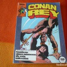 Cómics: CONAN REY NºS 31 AL 35 RETAPADO ( KRAAR SILVESTRI ) ¡BUEN ESTADO! FORUM MARVEL. Lote 179375592