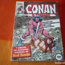 Cómics: CONAN EL BARBARO NºS 111 AL 115 RETAPADO ( CHAN ) ¡BUEN ESTADO! FORUM MARVEL. Lote 179380882