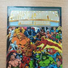 Cómics: CONTEST OF CHAMPIONS PRIMER COMBATE. Lote 179401378