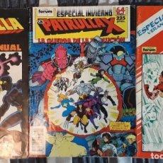 Cómics: PATRULLA-X LOTE COMICS FORUM 3 ESPECIALES. Lote 156043526
