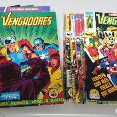 Cómics: LOS VENGADORES VOL. 1 ¡ LOTE DE 28 NUMEROS ! SEGUNDA EDICION - MARVEL FORUM. Lote 194066615