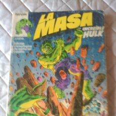 Cómics: LA MASA RETAPADO VOL.1 CON LOS NÚMEROS 6 AL 10. Lote 180013023