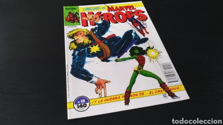 DE KIOSCO MARVEL HEROES 18 FORUM (Tebeos y Comics - Forum - Otros Forum)