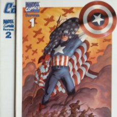 Cómics: CAPITAN AMERICA 1 Y 2 FORUM 2001 VOL 4. Lote 180082340
