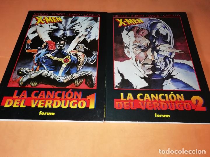 LA CANCION DEL VERDUGO 1 Y 2. OBRAS MAESTRAS 20 Y 21.FORUM . PRESTIGE CON SOLAPAS. BUEN ESTADO. (Tebeos y Comics - Forum - X-Men)