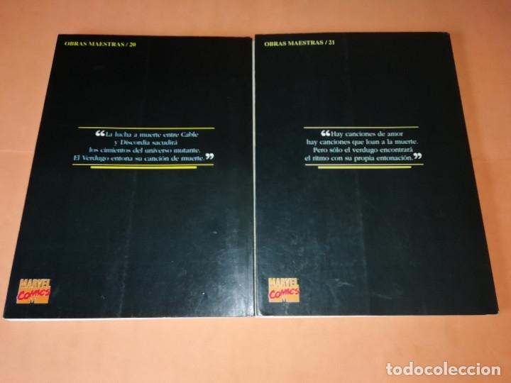 Cómics: LA CANCION DEL VERDUGO 1 Y 2. OBRAS MAESTRAS 20 Y 21.FORUM . PRESTIGE CON SOLAPAS. BUEN ESTADO. - Foto 2 - 180090977