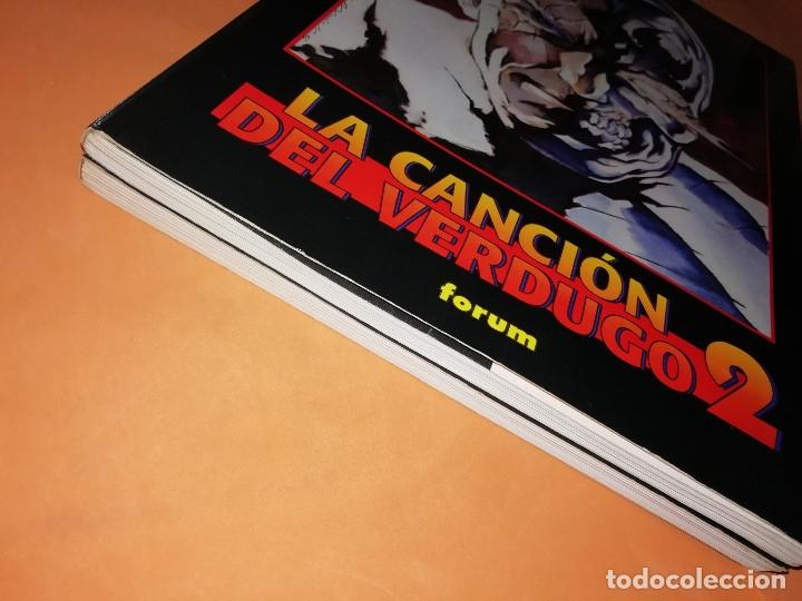 Cómics: LA CANCION DEL VERDUGO 1 Y 2. OBRAS MAESTRAS 20 Y 21.FORUM . PRESTIGE CON SOLAPAS. BUEN ESTADO. - Foto 4 - 180090977
