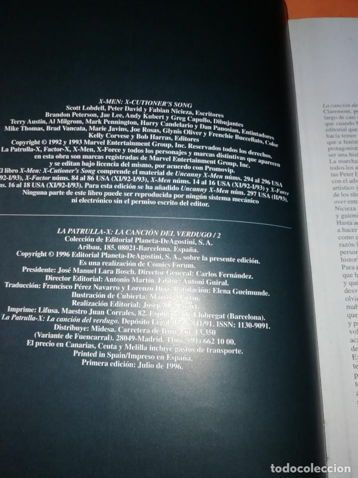 Cómics: LA CANCION DEL VERDUGO 1 Y 2. OBRAS MAESTRAS 20 Y 21.FORUM . PRESTIGE CON SOLAPAS. BUEN ESTADO. - Foto 9 - 180090977