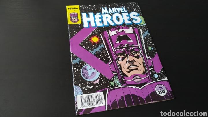 DE KIOSCO MARVEL HEROES 35 FORUM (Tebeos y Comics - Forum - Otros Forum)