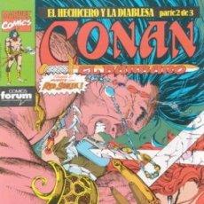 Cómics: CONAN EL BARBARO VOL. 1 Nº 178 - FORUM . Lote 180093481