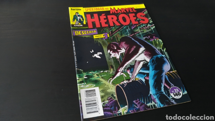 Cómics: DE KIOSCO MARVEL HEROES 23 FORUM - Foto 1 - 180093696