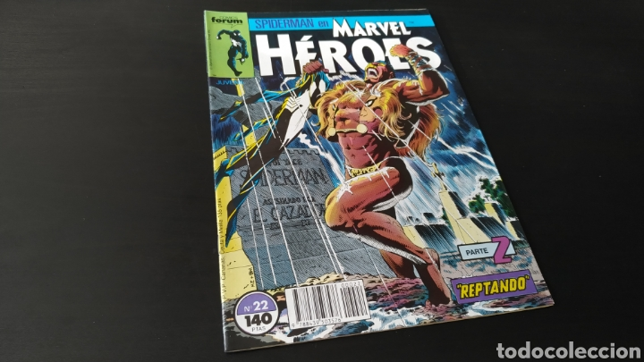 Cómics: DE KIOSCO MARVEL HEROES 22 FORUM - Foto 1 - 180093778