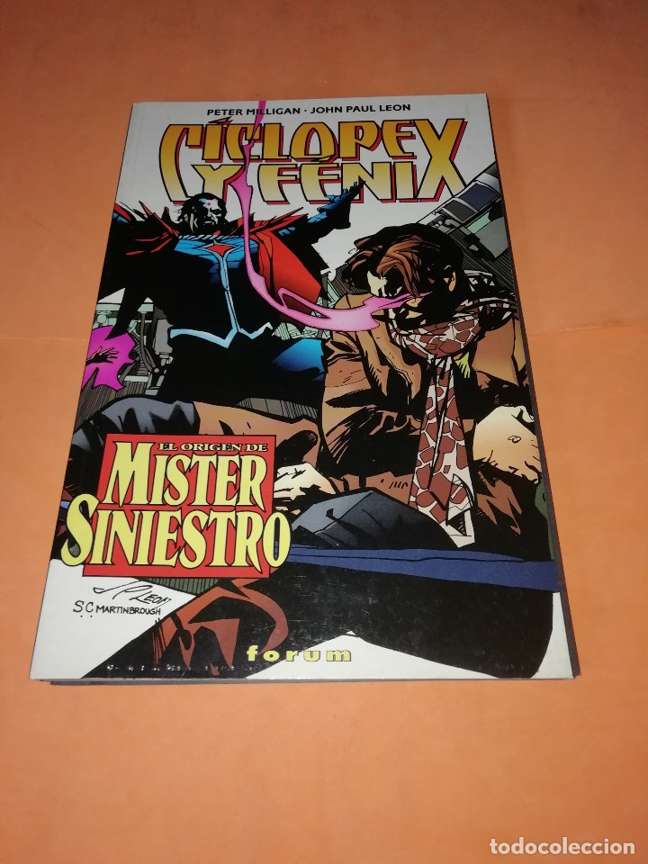 CICLOPE Y FENIX. EL ORIGEN DE MISTER SINIESTRO. PRESTIGE .FORUM. (Tebeos y Comics - Forum - X-Men)