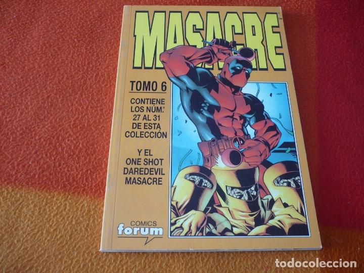 MASACRE VOL. 3 NºS 27 AL 31 + DAREDEVIL ONE SHOT RETAPADO ( JOE KELLY ) ¡BUEN ESTADO! FORUM MARVEL (Tebeos y Comics - Forum - Otros Forum)
