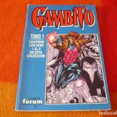 Cómics: GAMBITO NºS 1 AL 5 RETAPADO ( NICIEZA ) ¡BUEN ESTADO! FORUM MARVEL. Lote 180108185