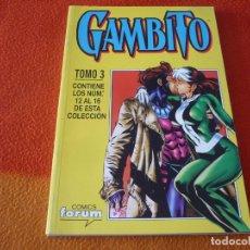 Cómics: GAMBITO NºS 12 AL 16 RETAPADO ( NICIEZA ) ¡BUEN ESTADO! FORUM MARVEL. Lote 180108236
