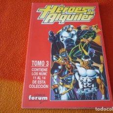 Cómics: HEROES DE ALQUILER NºS 11 AL 14 RETAPADO ( OSTRANDER) ¡MUY BUEN ESTADO! FORUM MARVEL. Lote 180108298