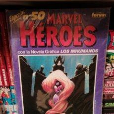 Cómics: MARVEL HÉROES 50 NOVELA GRÁFICA DE LOS INHUMANOS-FORUM. Lote 180120130