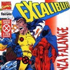 Cómics: EXCALIBUR VOL. 1 Nº 76 - FORUM - MUY BUEN ESTADO. Lote 180120653