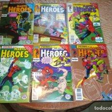 Cómics: SPIDERMAN MARVEL HEROES EL NIÑO QUE LLEVAS DENTRO COMPLETA 72 73 74 75 76 77 DE KIOSKO EXCELENTE . Lote 180131977