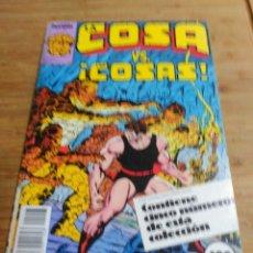 Cómics: LA COSA RETAPADO CON LOS NÚMEROS 11 AL 15. Lote 180177346