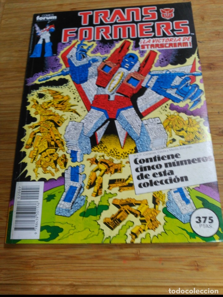 TRANSFORMERS RETAPADO CON LOS NÚMEROS 46 AL 50 EN EXCELENTE ESTADO. (Tebeos y Comics - Forum - Retapados)