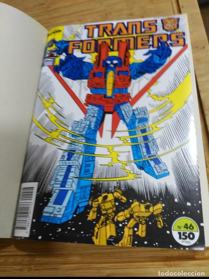 Cómics: Transformers Retapado con los Números 46 al 50 en excelente estado. - Foto 3 - 180177440