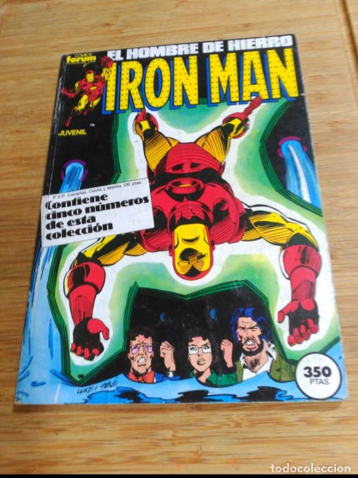 IRON MAN RETAPADO CON LOS NÚMEROS 31 AL 35 FORUM (Tebeos y Comics - Forum - Retapados)