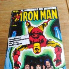 Cómics: IRON MAN RETAPADO CON LOS NÚMEROS 31 AL 35 . Lote 180177511