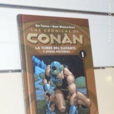 Cómics: LAS CRONICAS DE CONAN Nº 1 LA TORRE DEL ELEFANTE Y OTRAS HISTORIAS - FORUM - OFERTA. Lote 180191098
