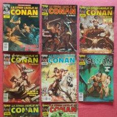Cómics: LOTE 8 COMICS FORUM LA ESPADA SALVAJE DE CONAN.. Lote 180247237