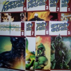 Cómics: CAPITAN MARVEL VOLUMEN 2 FORUM PANINI COMPLETA 8 TOMOS.. Lote 180261182