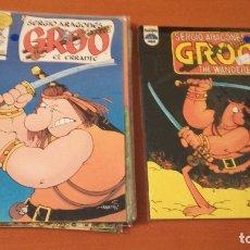 Cómics: LOTE GROO SERGIO ARAGONÉS. Lote 180323350