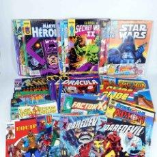 Cómics: LOTE 57 COMICS FORUM ZINCO. STAR WARS, DAREDEVIL, SECRET WARS...VER LISTA (VVAA) FORUM, 1986. OFRT. Lote 180387170