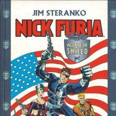 Comics : NICK FURIA, AGENTE DE SHIELD - FORUM / TOMO TAPA DURA (ETAPA STERANKO). Lote 180434688