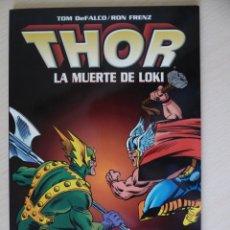 Cómics: THOR - LA MUERTE DE LOKI - FORUM. Lote 180438902