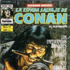 Cómics: LA ESPADA SALVAJE DE CONAN 2ª EDICIÓN. Nº 27. Lote 180443338