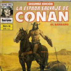 Cómics: LA ESPADA SALVAJE DE CONAN 2ª EDICIÓN. Nº 16. Lote 180443366