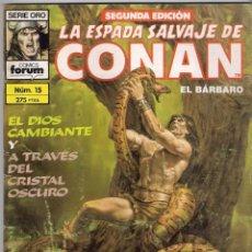 Cómics: LA ESPADA SALVAJE DE CONAN 2ª EDICIÓN. Nº 15. Lote 180443721
